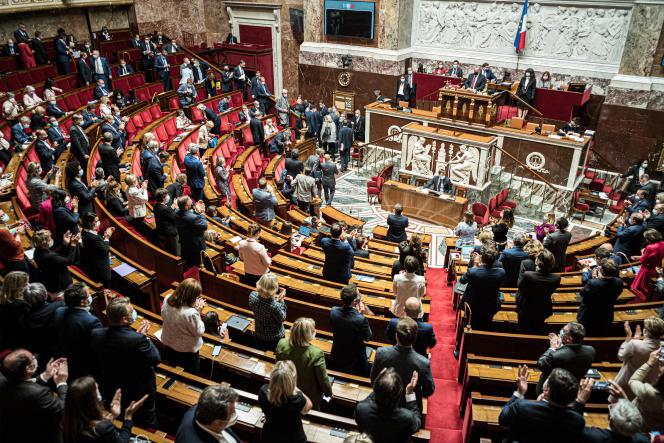A l'Assemblée nationale, le 29 juin 2021.