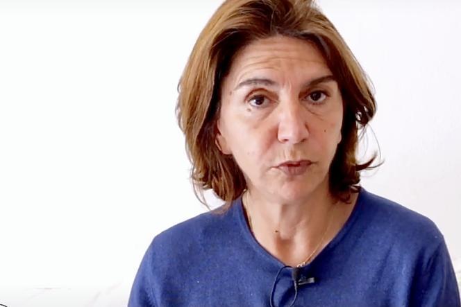 Extrait de la vidéo de campagne de DominiqueSantoni, maire Les Républicains d'Apt(Vaucluse)pour sa campagne lors des élections départementales de juin 2021.