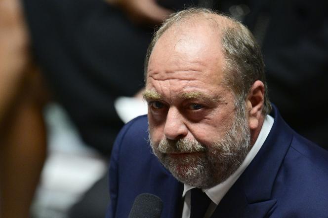 Eric Dupond-Moretti lors d'une session de questions au gouvernement, le 15 septembre, à l'Assemblée nationale à Paris.