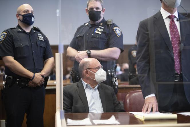 Allen Weisselberg,directeur financier de la Trump Organization, au tribunal de NewYork, le 1erjuillet2021.