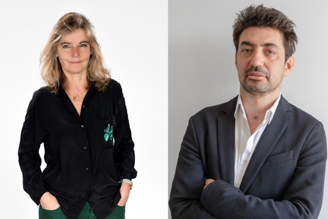 Sandrine Treiner, directrice de France Culture, etBoris Razon, directeur éditorial d'Arte France.
