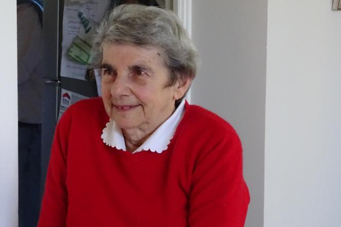 L'historienne Marianne Debouzy, en avril 2018.