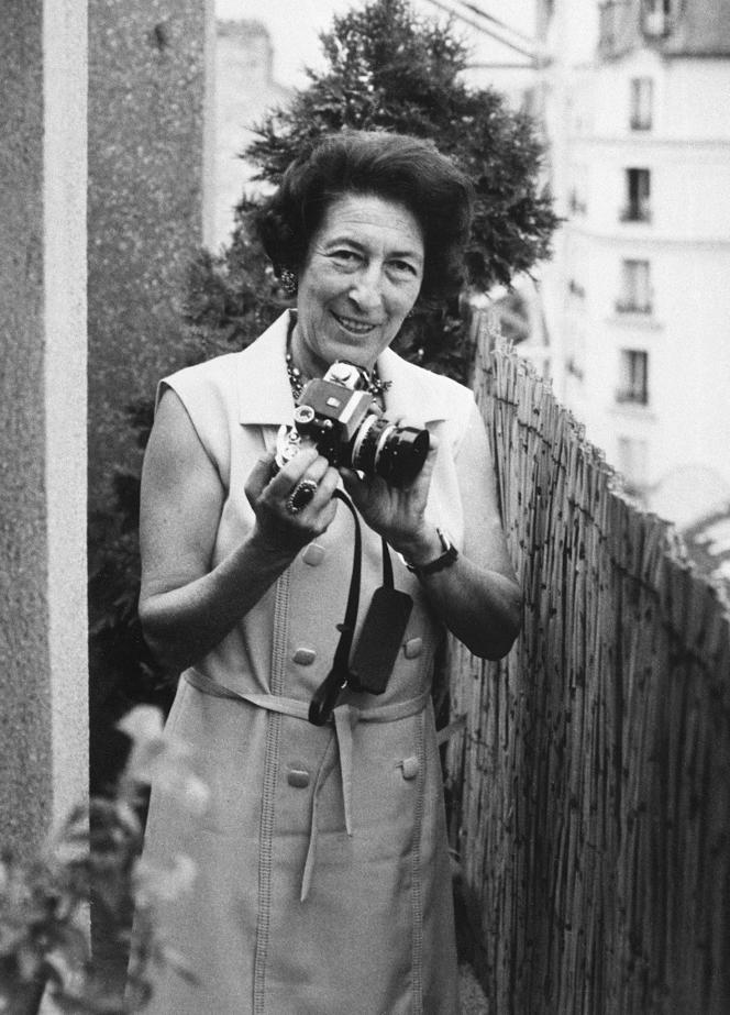 Portrait non daté de la photographe Gisèle Freund.