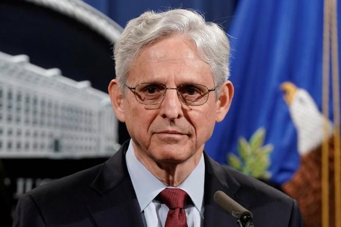 Le ministre de la justice, Merrick Garland, à Washington, DC, le 25juin2021.