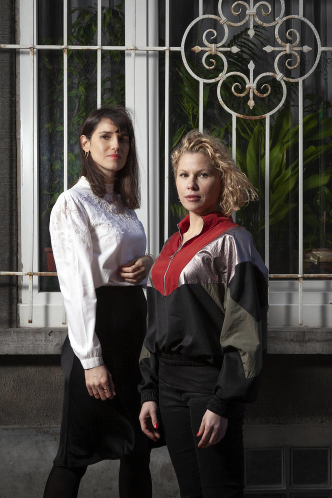 Myriam Leroy (à droite) et Florence Hainaut, auteurs du documentaire« #SalePute ».