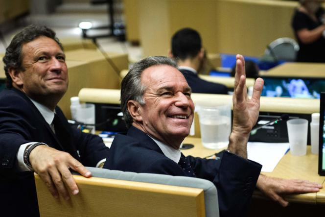 Le président (Les Républicains) de la région Provence-Alpes-Côte d'Azur, Renaud Muselier, à Marseille, le 2 juillet.
