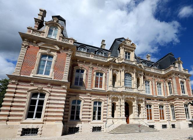 Le château Perrier à Epernay, devenu Musée du vin de Champagne et d'archéologie régionale.