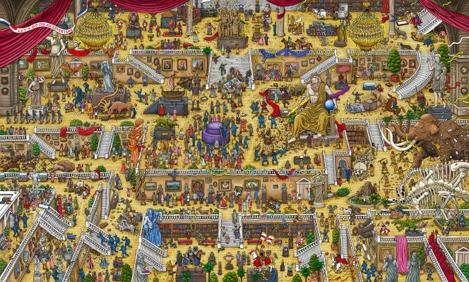 «Labyrinth City : Pierre The Maze»est un jeu vidéo qui se déroule dans des décors fourmillants de personnages.