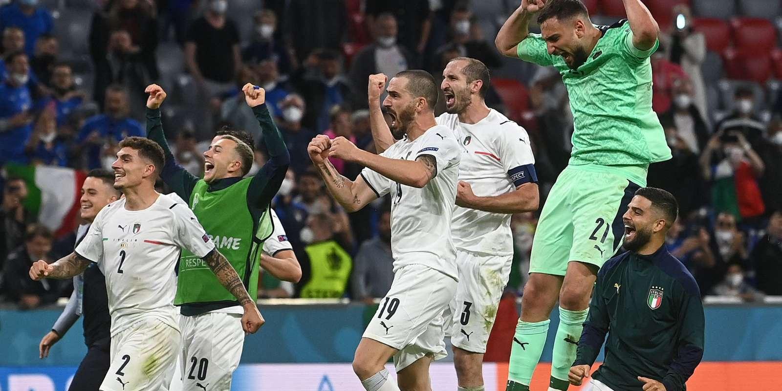 L'Italie tentera mardi contre l'Espagne à Wembley de se qualifier pour la première finale à l'Euro depuis 2012.