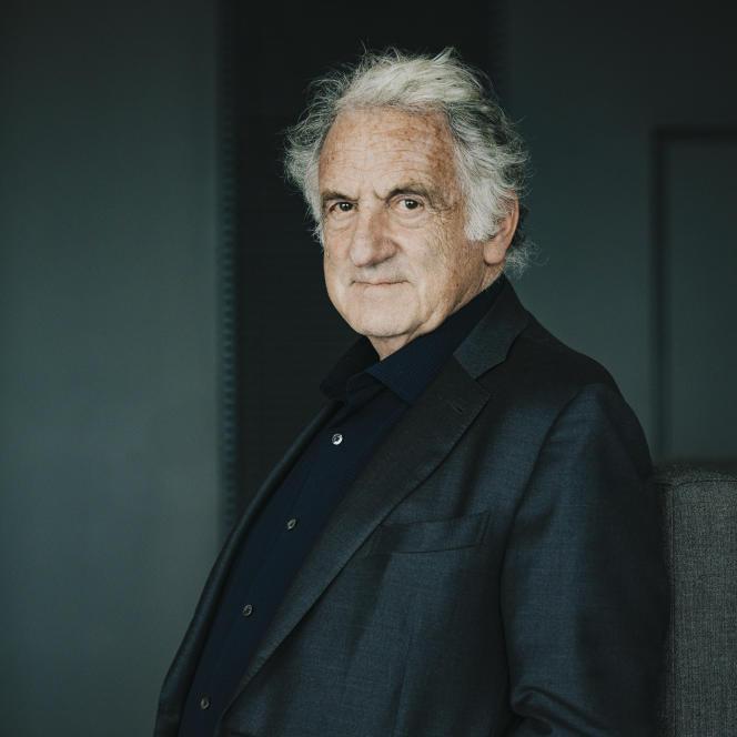 René Frydman, à Paris, le 1 juillet 2021.