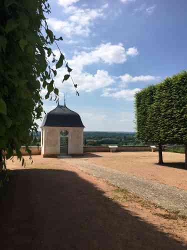 Le petit pavillon des Vents, qui abrite une «mise en scène» d'écrits de Flaubert, évoque le pavillon du domaine de Croisset, dernier vestige de la maison de l'auteur de «L'Education sentimentale».