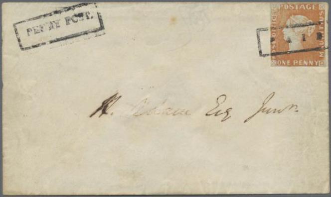 8,1 millions d'euros pour cette lettre de l'île Maurice (1847).