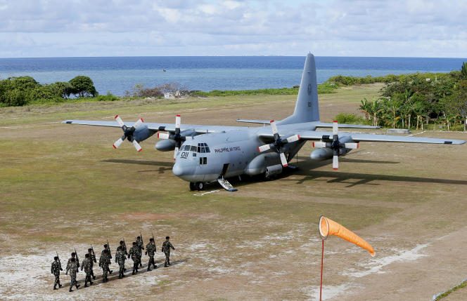 The C-130s are military transport aircraft that are often used to provide humanitarian assistance and disaster relief.