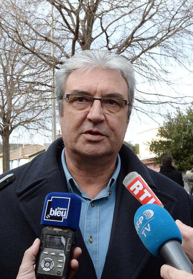 Patrick Boré le 5 janvier 2016 à La Ciotat.