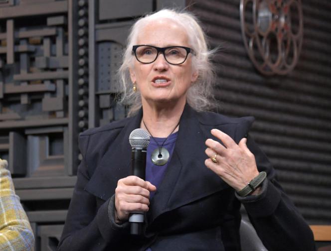 La réalisatrice Jane Campion au Festival du film de Sundance, à Park City, aux Etats-Unis, le 1er février 2019.