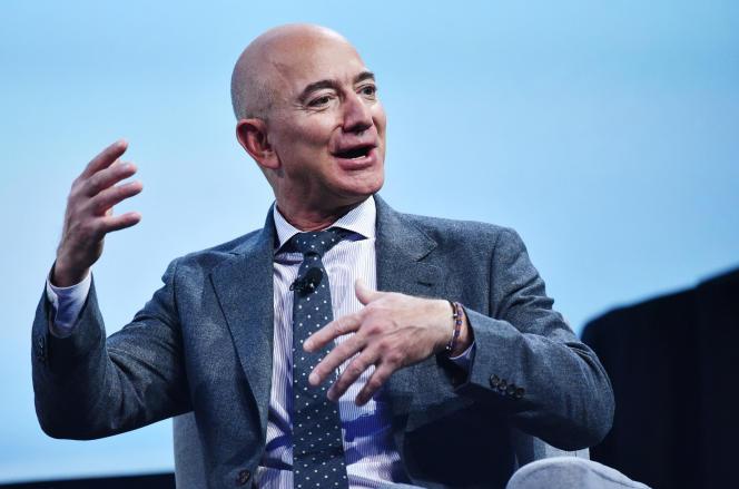 Jeff Bezos, à Washington, le 22octobre2019.