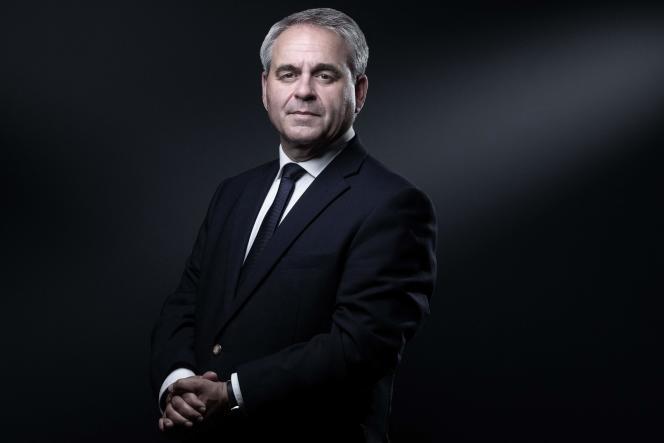 Le président de la région Hauts-de-France, Xavier Bertrand, à Paris, le 1er juillet 2021.