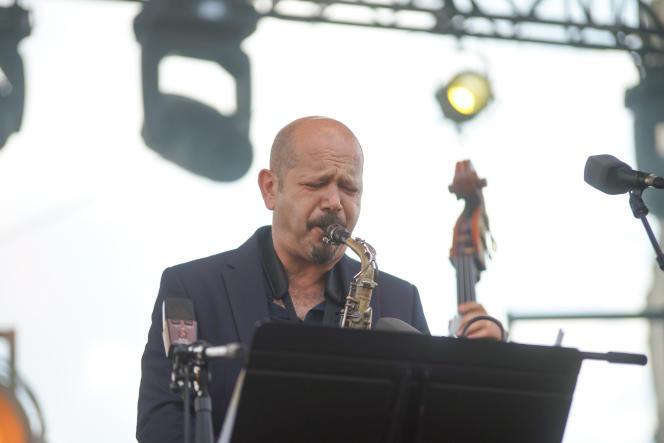 Stefano Di Battista, au Saint-Omer Jaaz Festival (Pas-de-Calais), le 3 juillet 2021.