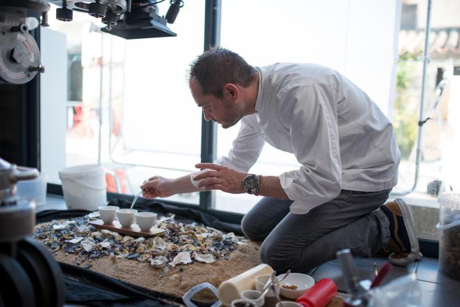 Le chef Alexandre Couillon dans la saison 2 de Chef's Table, sur Netflix, en 2015.