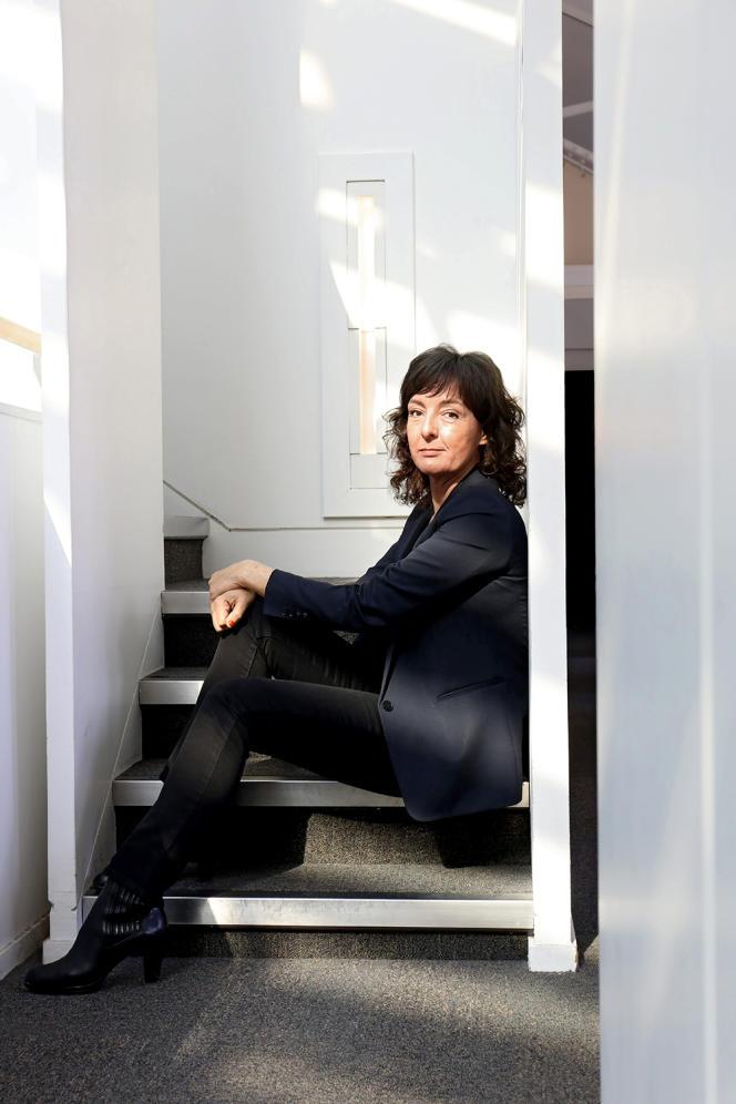 Lise Boëll, chez Albin Michel, en 2021.