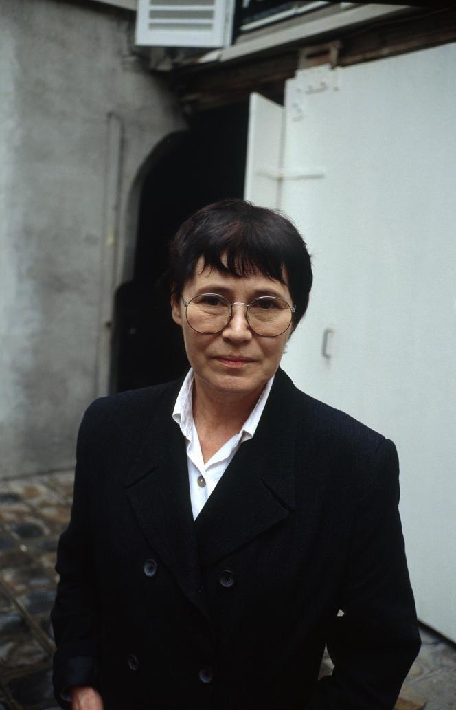 L'écrivaine suisseAgota Kristof, en 1995.
