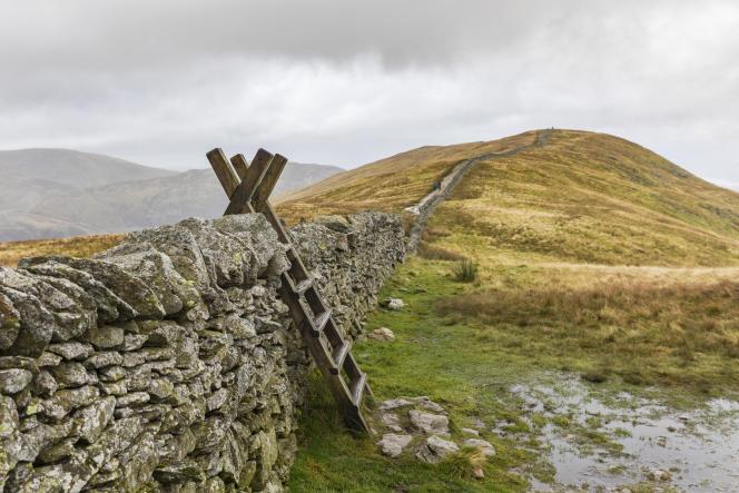 Paysage du Lake District, dans le nord de l'Angleterre.