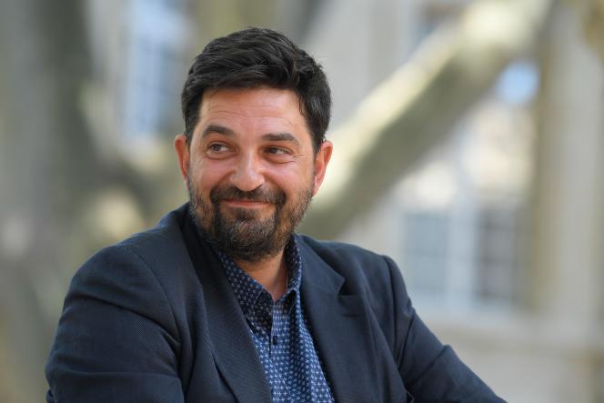 Tiago Rodrigues, le 5 juillet à Avignon.