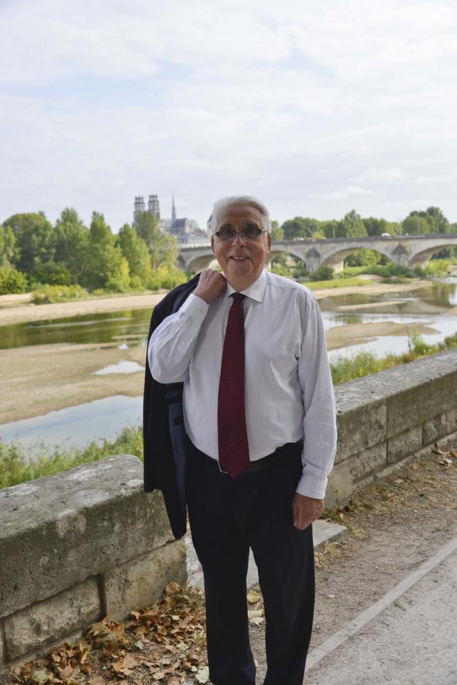 Le sénateur Jean-Pierre Sueur, à Orléans, en 2018.