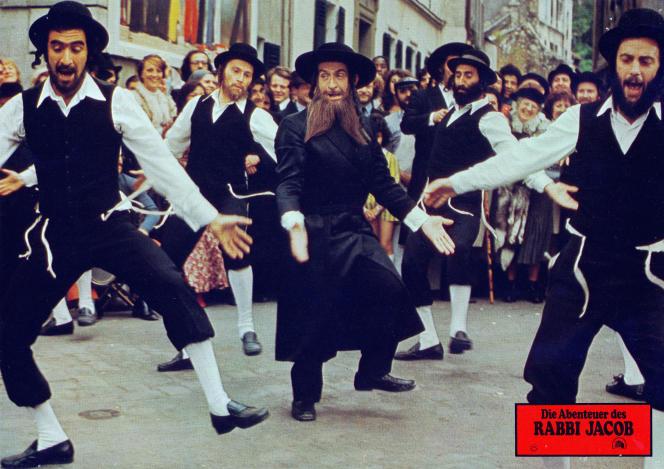 Louis deFunès dans «Les aventures de Rabbi Jacob», de Gérard Oury.