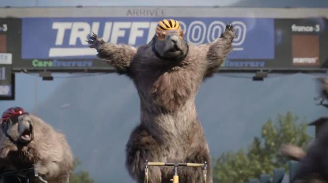 Marmotte cycliste, sur France 3.