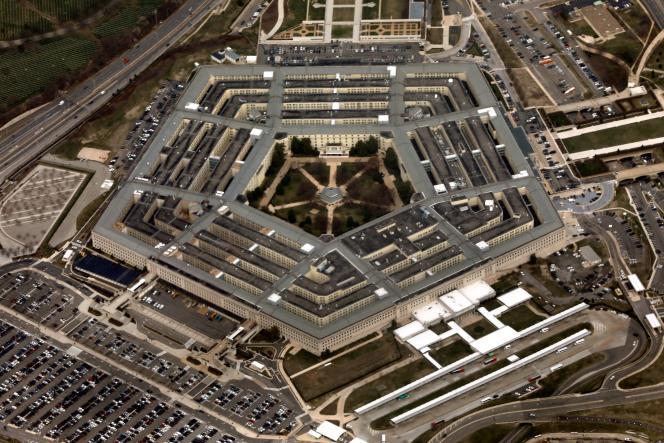 Vue du Pentagone, le 29 mars 2018