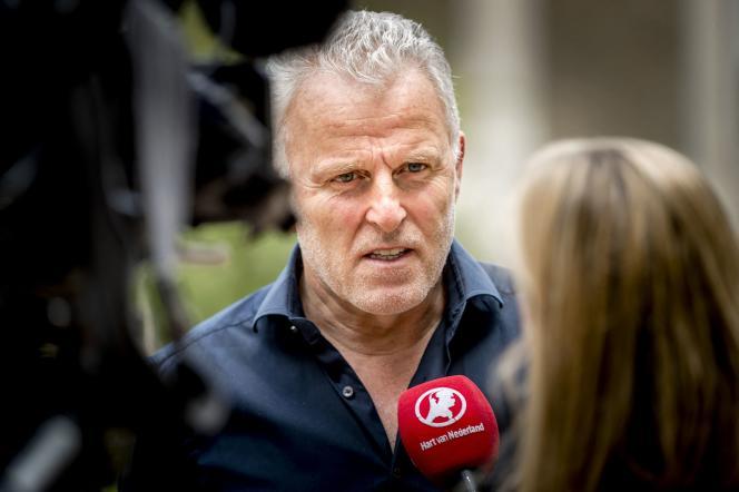 Le journaliste néerlandais Peter R. de Vries, àArnhem, le 24 mai 2017.