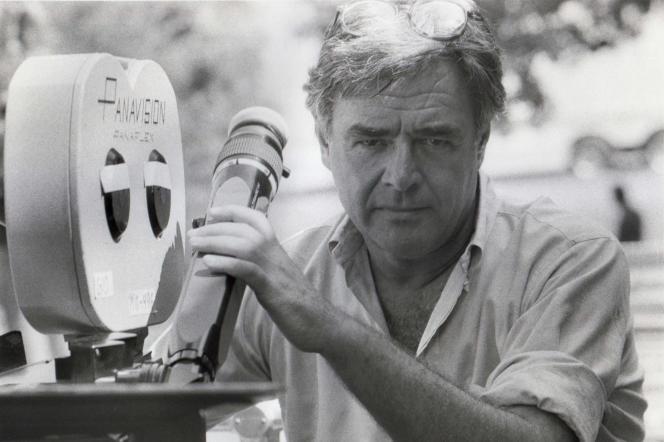 Richard Donner sur le tournage du film «TheToy», en 1982.