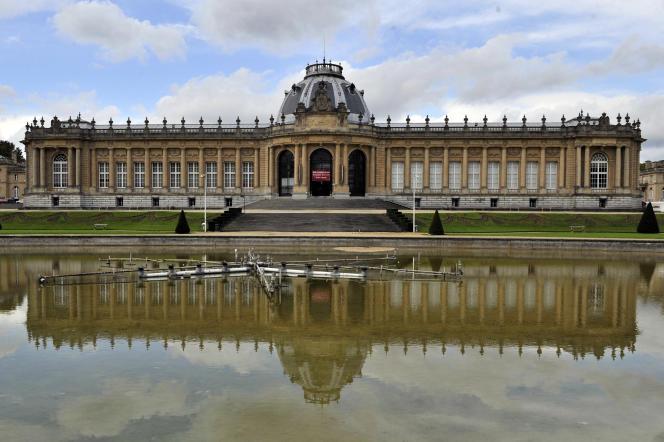 Le Musée royal de l'Afrique centrale à Tervueren («Koninklijk Museum voor Midden-Afrika», en néerlandais), dans la banlieue de Bruxelles, en2013.
