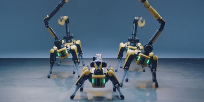 Le robot Spot.