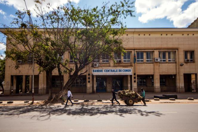 La Banque centrale de RDC à Lubumbashi, en mai 2016.
