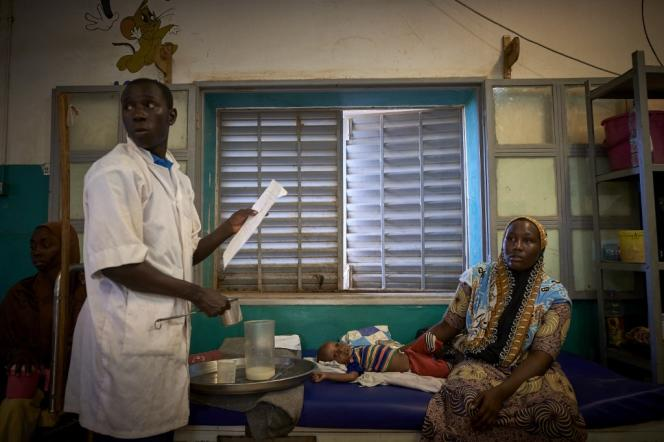 Dans un hôpital, à Gao, au Mali, en octobre 2020.
