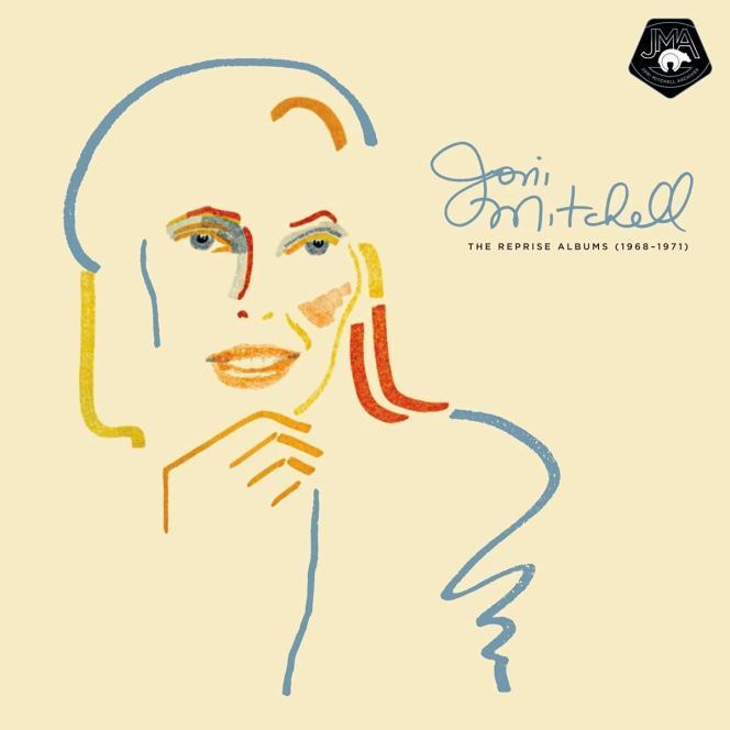 Pochette du coffret «The Reprise Albums (1968-1971)», de Joni Mitchell.