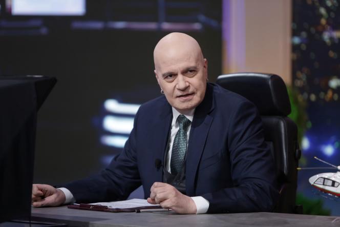 Slavi Trifonov, in Sofia, Bulgarien, 30. November 2020.