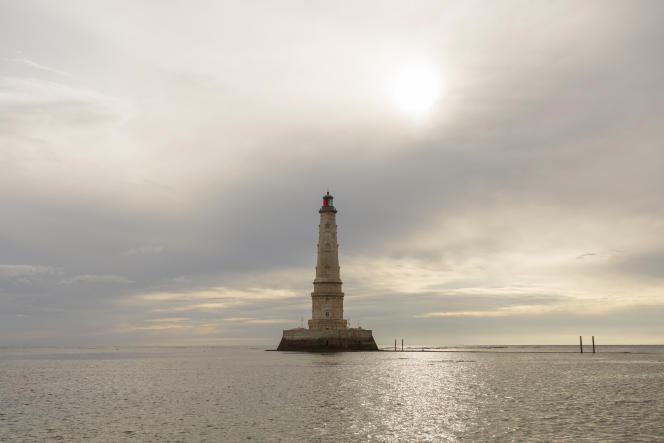 Le phare de Cordouan, au Verdon-sur-Mer (Gironde), le 2 juillet 2021.