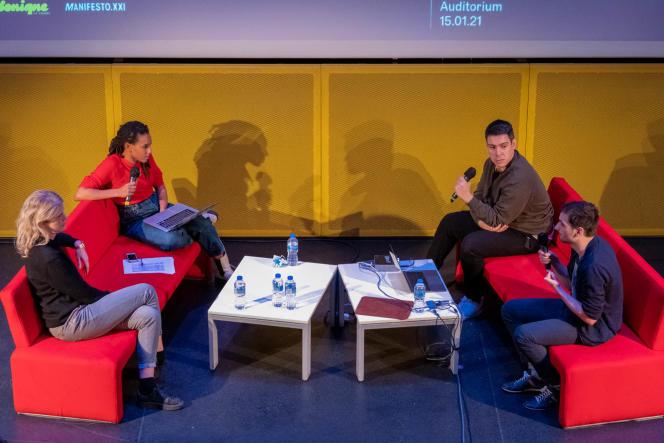 Camille Diao et ses invités du premier épisode d'«Il était des voix».