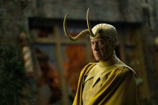 Richard E. Grant en «classic Loki», dans le cinquième épisode de la série «Loki».