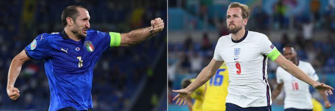 Qui du capitaine italien Giorgio Chiellini ou de son homologue anglais Harry Kane soulèvera le trophée Henri-Delaunay dimanche 11 juillet au soir, au stade de Wembley, à Londres ?