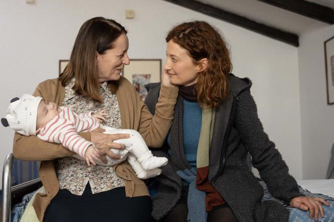 Daria Deflorian et Alba Rohrwacher (Monica) dans« Tre piani», de Nanni Moretti.