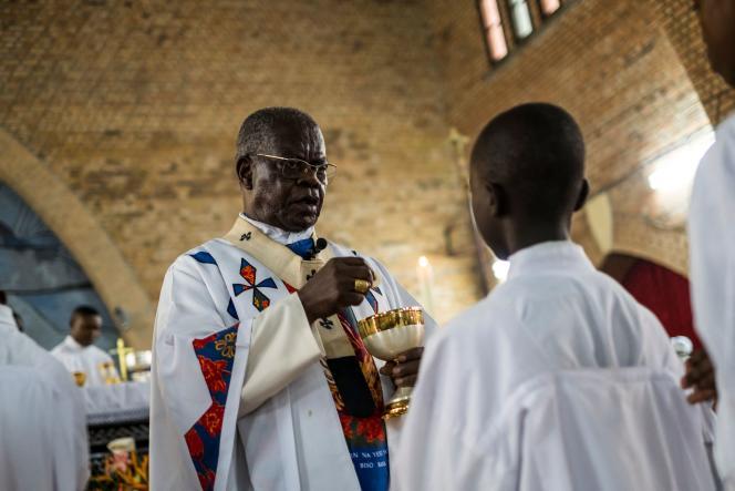 Ordonné prêtre en 1963, fait cardinal par Benoît XVI en 2010, Laurent Monsengwo Pasinya– ici le 21 septembre 2016 – avait cédé son fauteuil à la tête de l'archidiocèse de Kinshasa à Mgr Ambongo en novembre 2018.