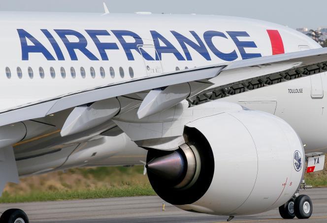 Een Airbus A350 van Air France, september 2019.