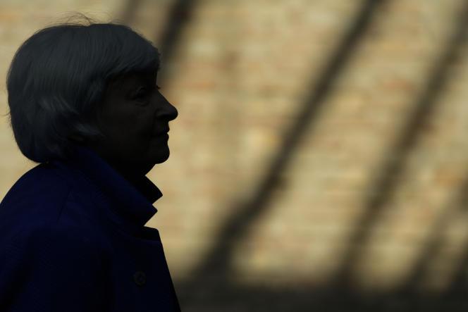 La secrétaire au Trésor, Janet Yellen, a fait pression sur les dirigeants européens, au sommet du G20, à Venise (Italie), le 11 juillet 2021.