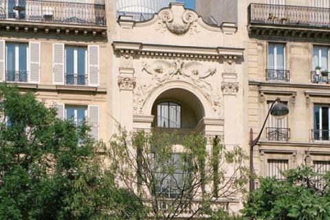 Les anciens cinémas Gaumont Gobelins-Rodin (Paris13e), fermés en2003 et qui abritent la Fondation Seydoux