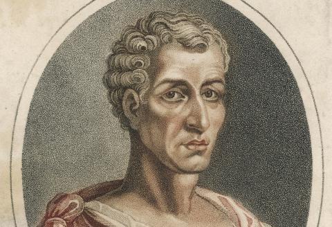 LUCIAN Greek writer and satirist (120 - 180)