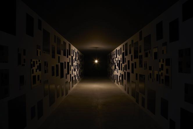 « Les Archives du cœur», sur l'île Teshima, au Japon, en 2005.